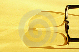 Spectacles With Shadow Stock Photos - Image: 21133453
