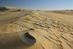 Sand Dune Ripples Royalty Free Stock Image - Image: 21135836