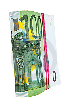 One Hundred Euro Banknotes. Stock Photos - Image: 21136923