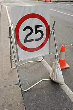 Speed Limit Stock Photography - Image: 21143352