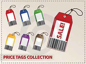Blank Price Tags Stock Photos - Image: 21148743