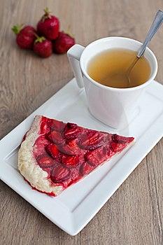 Strawberry Pie Royalty Free Stock Photos - Image: 21150688