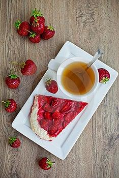 Tea With Pie Stock Photo - Image: 21150710