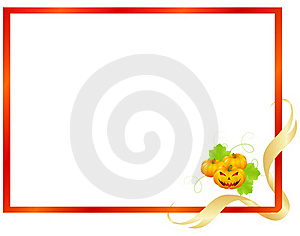 Decorative Holloween Frame Stock Images - Image: 21152884