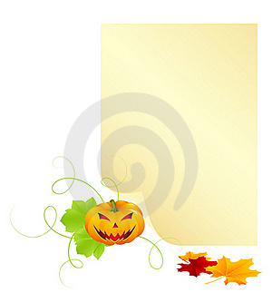 Halloween Letter Royalty Free Stock Photo - Image: 21152935