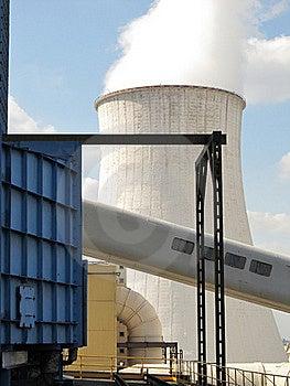 Chłodniczy Wierza Zdjęcie Stock - Obraz: 21154310