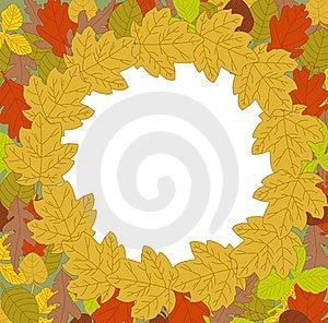 Leaves Frame Stock Image - Image: 21154501