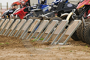 Quad Bike Racing Stock Photography - Image: 21156522