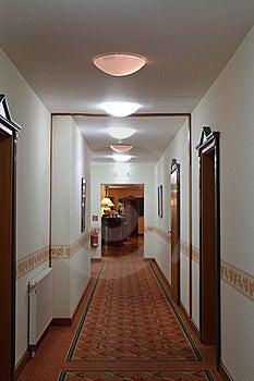 A Long Corridor Royalty Free Stock Photos - Image: 21156838