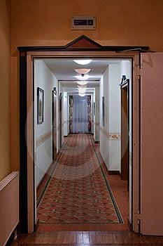 A Long Corridor Royalty Free Stock Photos - Image: 21156848