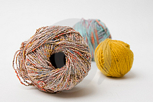 Yarn Pile Royalty Free Stock Photo - Image: 21166405