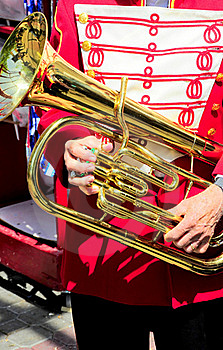 Marching Band Member. Royalty Free Stock Photography - Image: 21166897