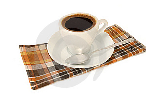 Cup Of Strong Coffee Royalty Free Stock Photo - Image: 21167265