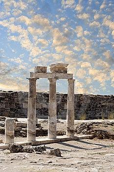 Ruins Of Hierapolis Royalty Free Stock Photo - Image: 21168285