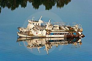 Abandoned Ship Stock Photo - Image: 21169490