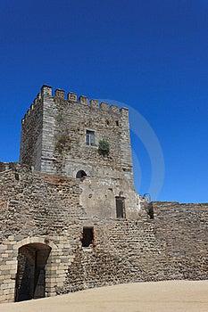 Monsaraz Fortress Stock Photo - Image: 21174170