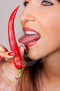 Chili Pepper Stock Images - Image: 21174334