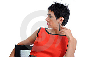 Confident Woman Royalty Free Stock Images - Image: 21176959