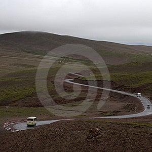 Plateau Highway Stock Photo - Image: 21176970