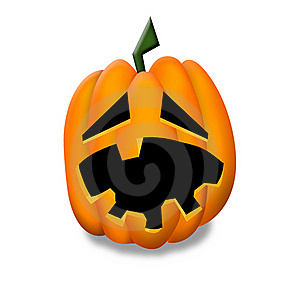 Halloween Pumpkin Clipart. Stock Photography - Image: 21177292