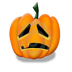 Halloween Pumpkin Clipart. Royalty Free Stock Photo - Image: 21177315
