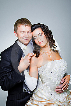 Just Married Bride And Groom Royalty Free Stock Photography - Image: 21178407