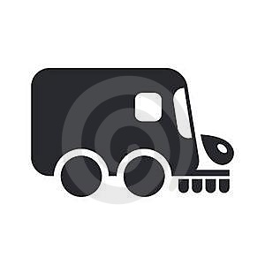 Road Cleaner Royalty Free Stock Photo - Image: 21178765