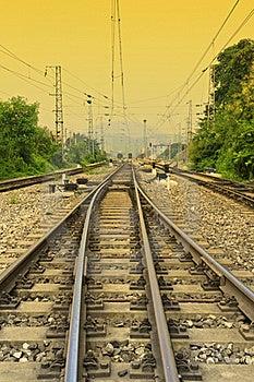 Antiquity Railway Royalty Free Stock Photography - Image: 21181087