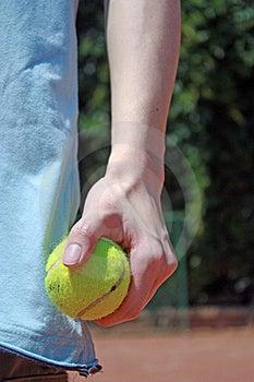 Detail Of Tennis Player Royalty Free Stock Photos - Image: 21183558