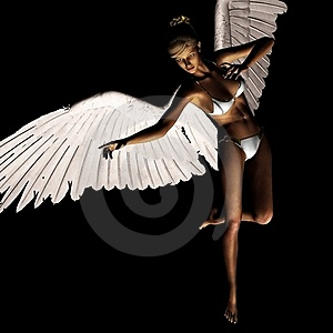 Angel 165 Royalty Free Stock Images - Image: 21185079