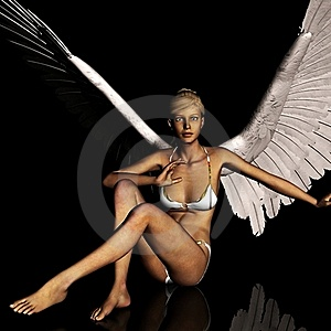 Angel 167 Royalty Free Stock Photo - Image: 21185095
