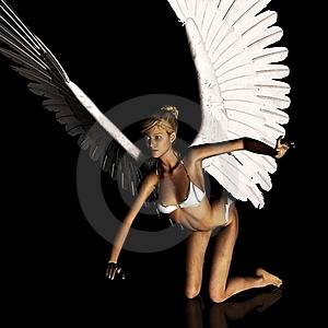 Angel 168 Stock Photo - Image: 21185140