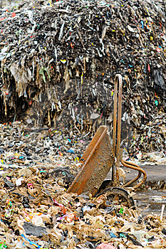 Garbage Cart Royalty Free Stock Photo - Image: 21188675