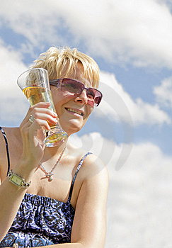Blond Women In Sun Stock Photography - Image: 21189562