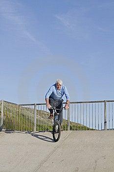 Senior Man Bmx Stock Images - Image: 21189574