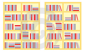 Book Shelf Stock Photography - Image: 21189752