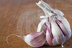 Violet Garlic Stock Images - Image: 21190874