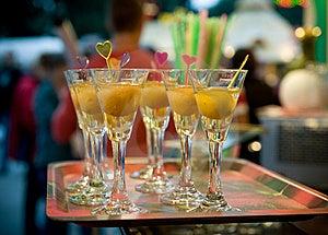 Vodka Pear Stock Photo - Image: 21192220