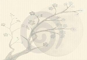 Background Sumi-e Styled Stock Photos - Image: 21192233