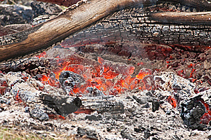 Hot Coals Royalty Free Stock Photos - Image: 21196448