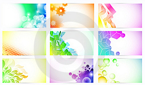Fantasy Business Cards Stock Images - Image: 21199504
