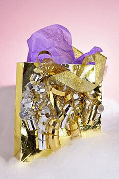 Gift Bag Royalty Free Stock Images - Image: 2120669
