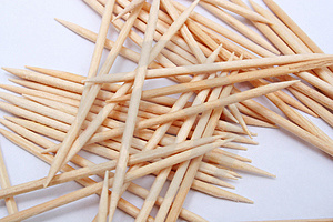 Toothpick Royalty Free Stock Images - Image: 2126089