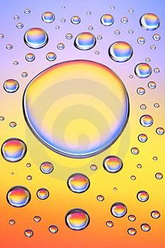 Gotas-e Da água Imagem de Stock Royalty Free - Imagem: 2129306