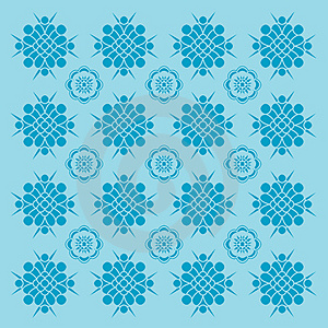 Decorative Wallpaper. Stock Image - Image: 2129541