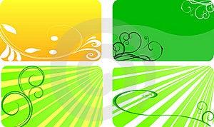 Eco Cards Stock Photos - Image: 21204343