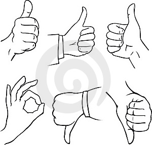 Hands Sketch Royalty Free Stock Image - Image: 21206776