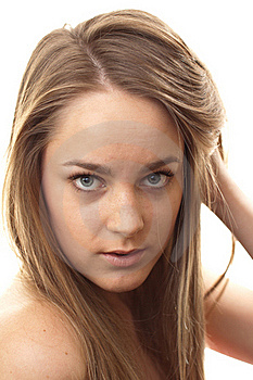 Sexy Young Blond Model Royalty Free Stock Photography - Image: 21206807