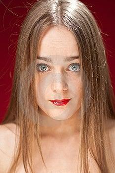 Sad Woman Royalty Free Stock Image - Image: 21206986
