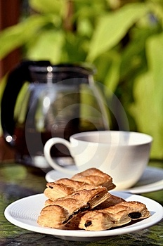 Tea Break With Biscuits Royalty Free Stock Images - Image: 21207149